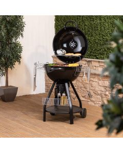 57cm Kettle Barbecue with Accessories and Protective Cover